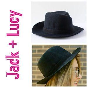 Accessories - Jack + Lucy Bicoastal Wide Brim Hat New